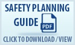 This safety planning guide will help you think about things you can do to stay safe.