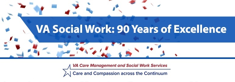 VA_Social_Work 90 Years Logo